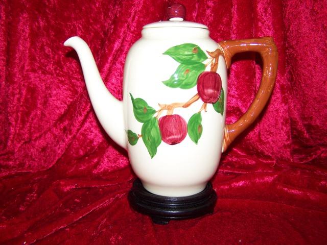 Apple Coffee Maker ~ Franciscan apple
