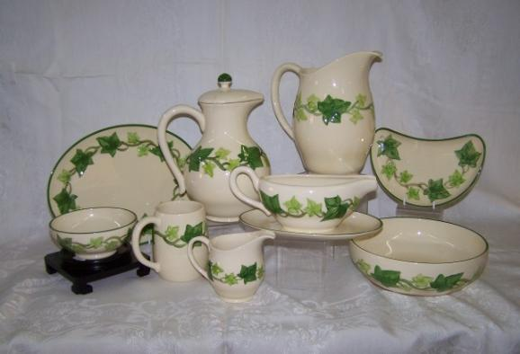 Franciscan Ivy Pattern Custom Franciscan Ware Patterns